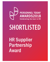 Personnel Today Awards 2018 - HR Supplier Partnership Award